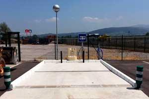 Área de Servicio Autocaravanas Estación de servicio
