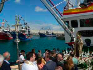 Festividad de la Virgen del Carmen Laredo